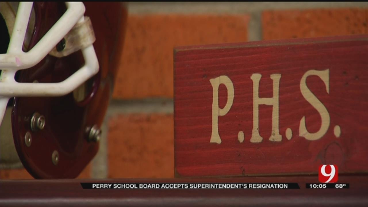 Perry School Board Accepts Superintendent Resignation