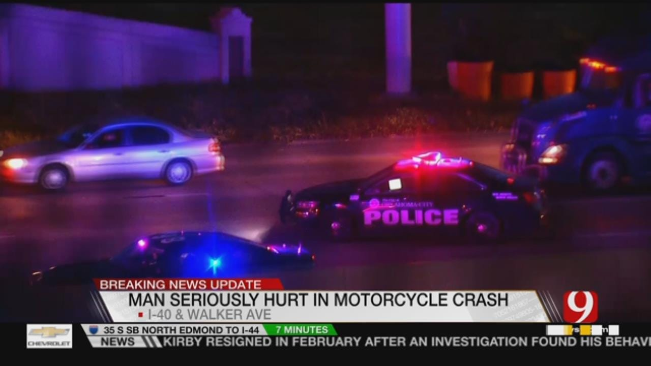 One Critically Injured In Interstate 40 Crash Involving Motorcycle
