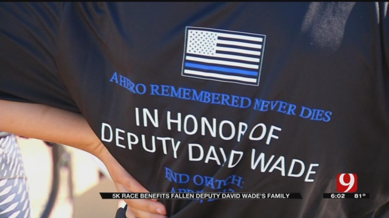 5K Race Benefits Fallen Logan County Deputy's Family