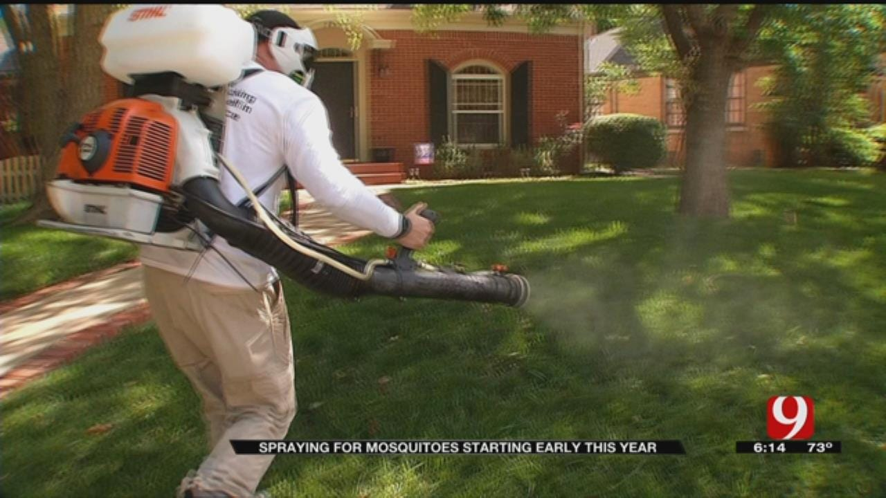 Local Health Officials Say Mosquito Season Starting Early This Year