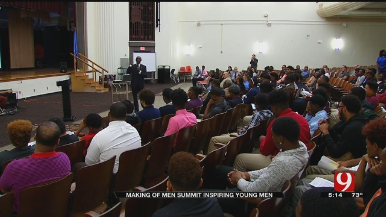 """OKC Police Get Involved In The """"Making Of Men Summit"""""""