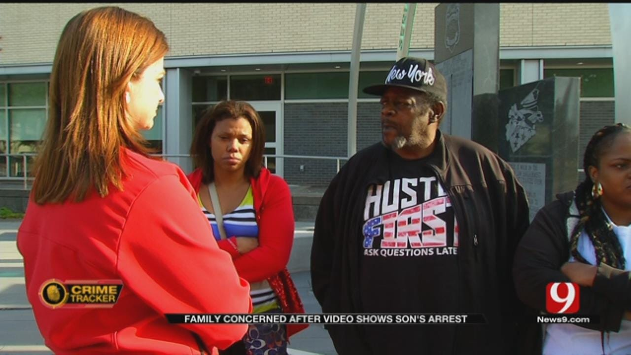 Family Concerned After Video Released Showing Son's Arrest