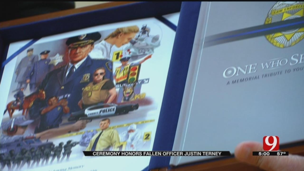 Tecumseh Fallen Officer's Family Grateful For Support