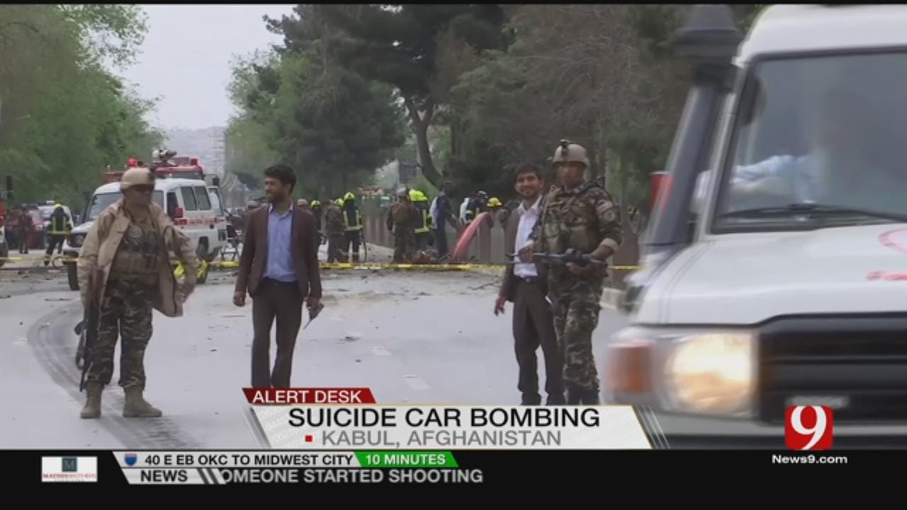 IS Attack On US Convoy Kills 8 Afghans, Wounds 3 US Soldiers