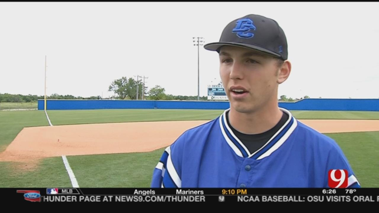 Deer Creek's Mitchell Stone Is The No. 25 Ranked Baseball Prospect In Country