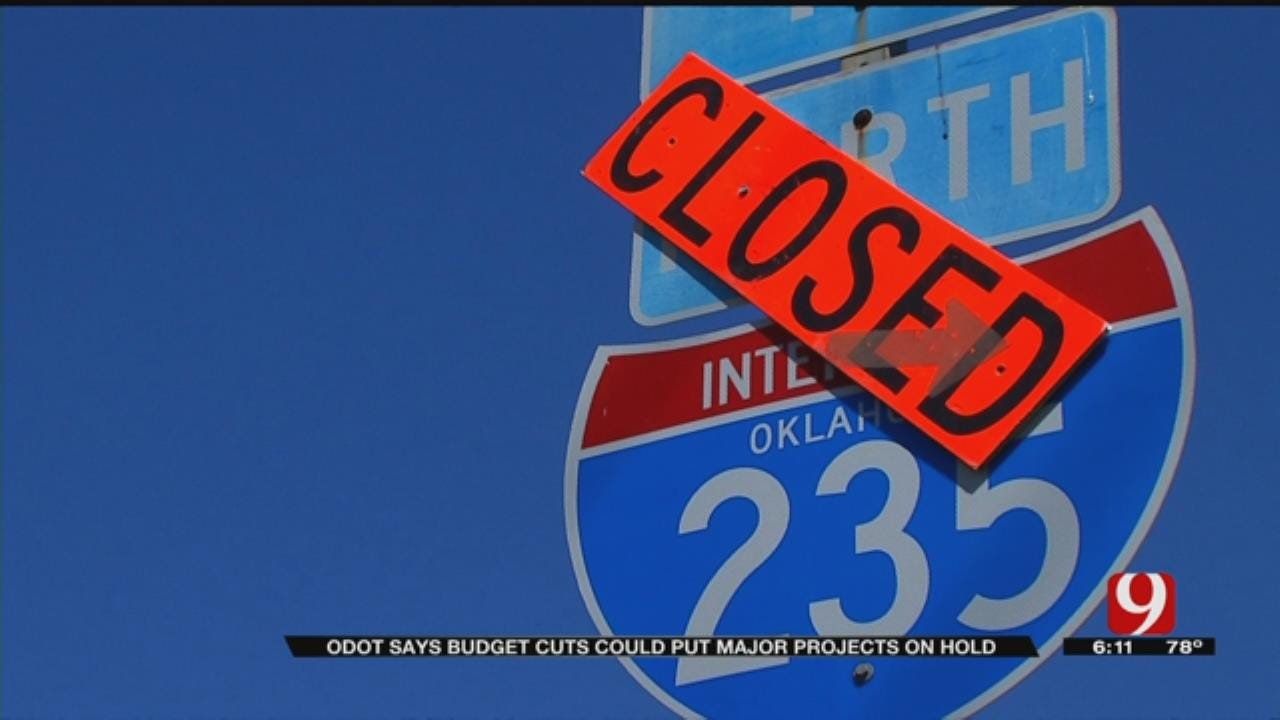 ODOT Says Budget Cuts Could Put Major Projects On Hold
