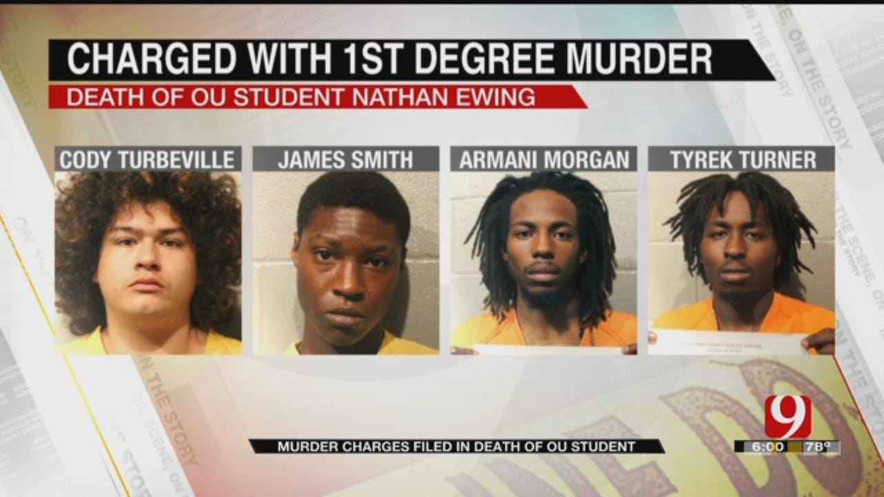 All Suspects Charged As Adults In Connection With OU Student's Homicide