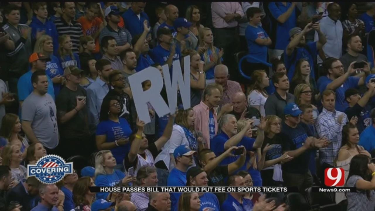 Oklahoma House Passes Professional Sporting Event Ticket Fee