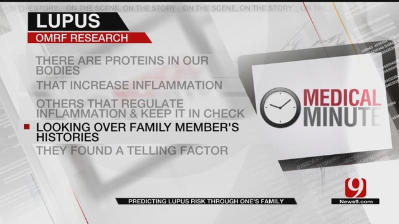 Medical Minute: Lupus Risk