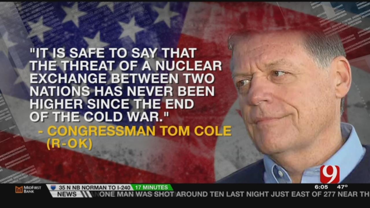 """Rep. Cole: """"Threat Of A Nuclear Exchange"""" Has Never Been Higher"""