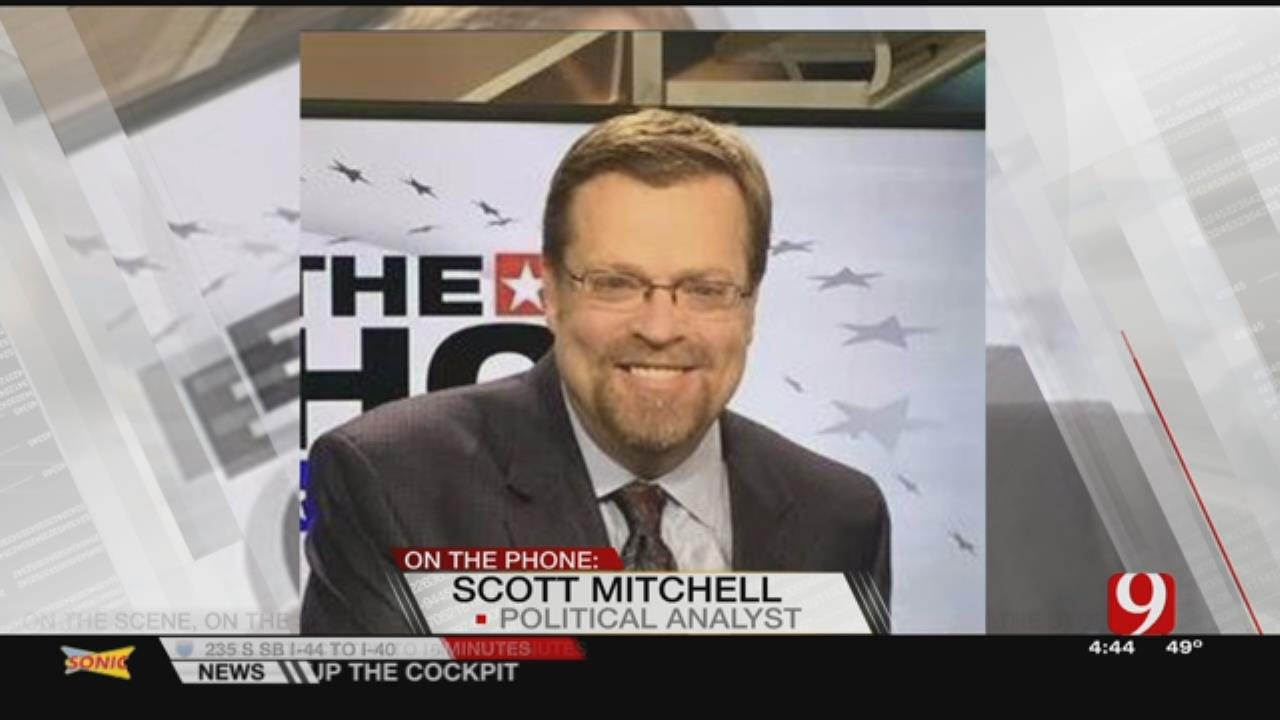 Mitchell Calls In To Talk Governor Race, State Budget
