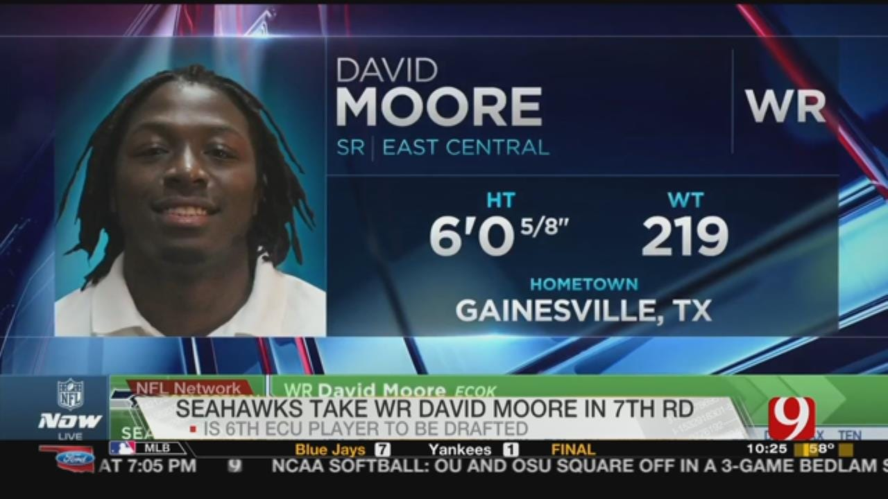 East Central's Moore Drafted By Seattle