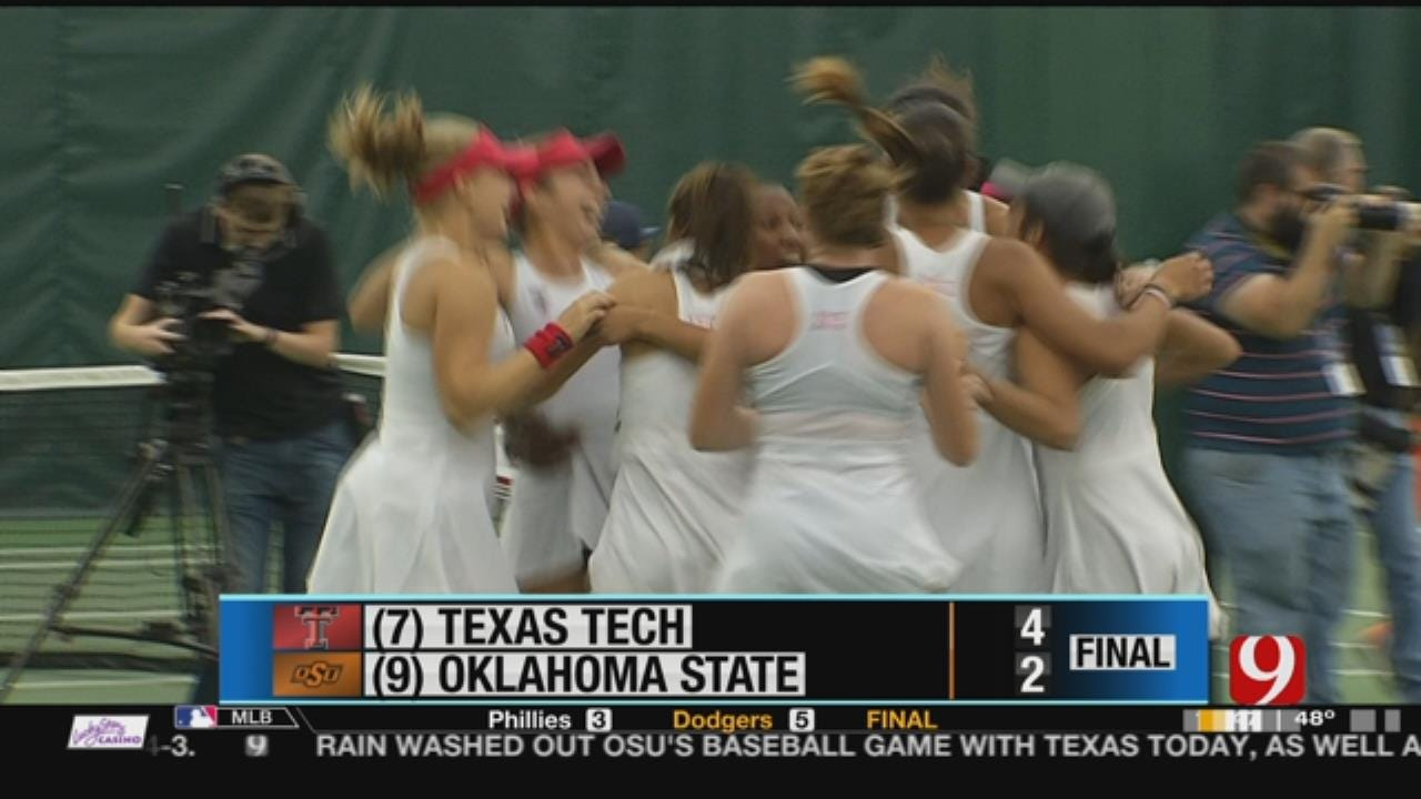 Cowgirls Finish Second In Conference Tennis Tourney