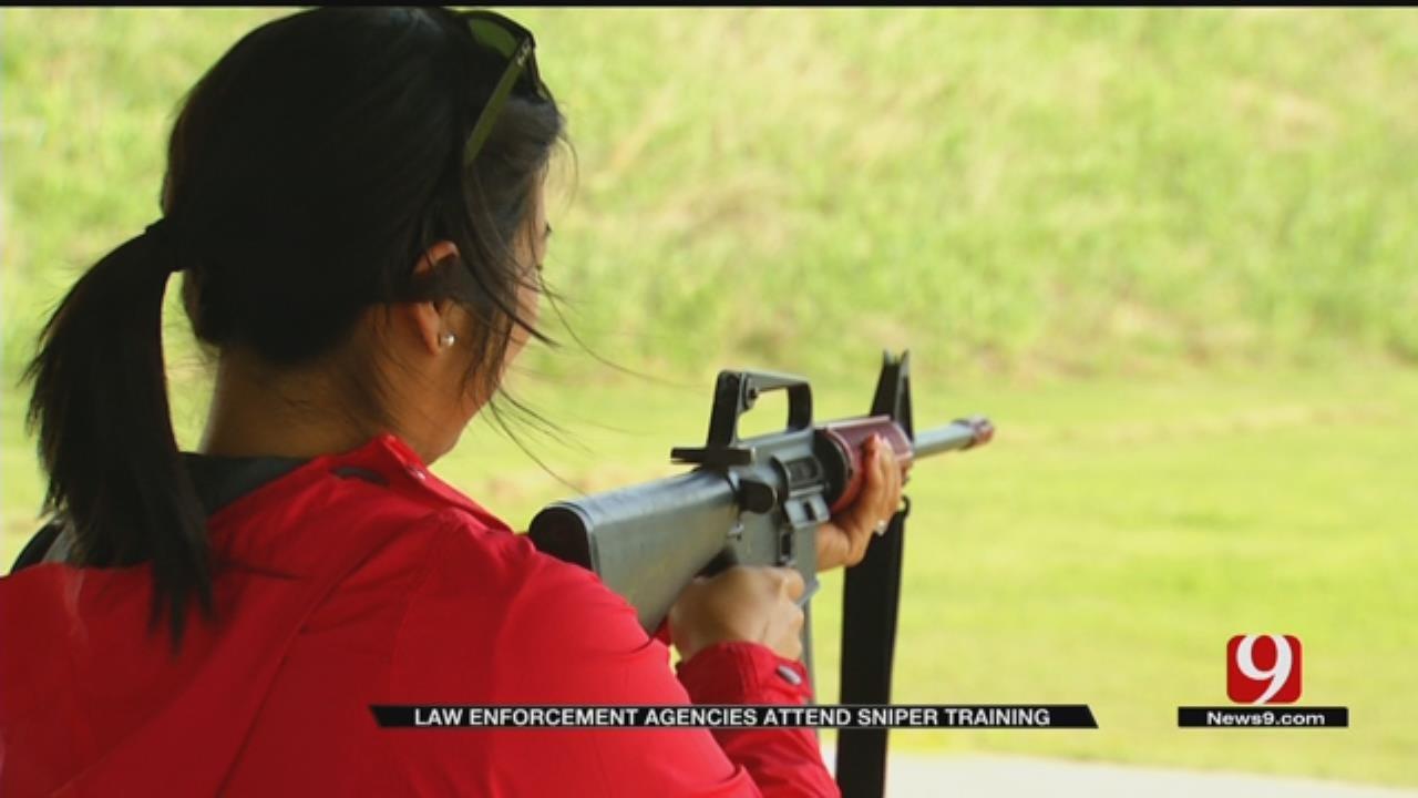 Oklahoma County Sheriff's Office Hosts Sniper Training Program
