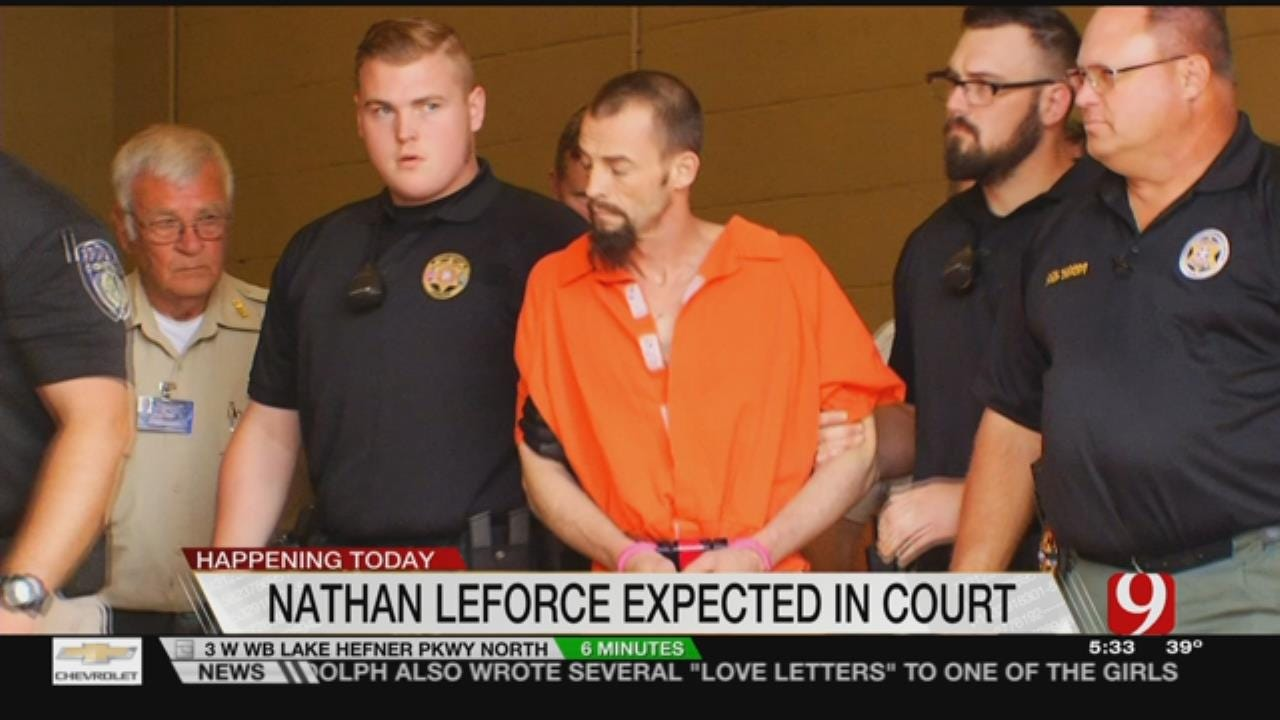 Man Charged With Killing Logan County Deputy Back In Court Today