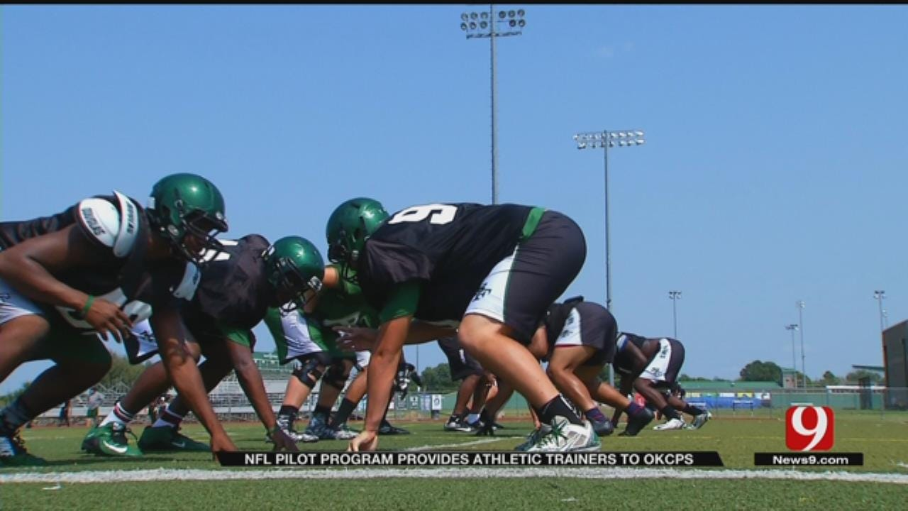 NFL Pilot Program Provides Full-Time Athletic Trainers To OKCPS