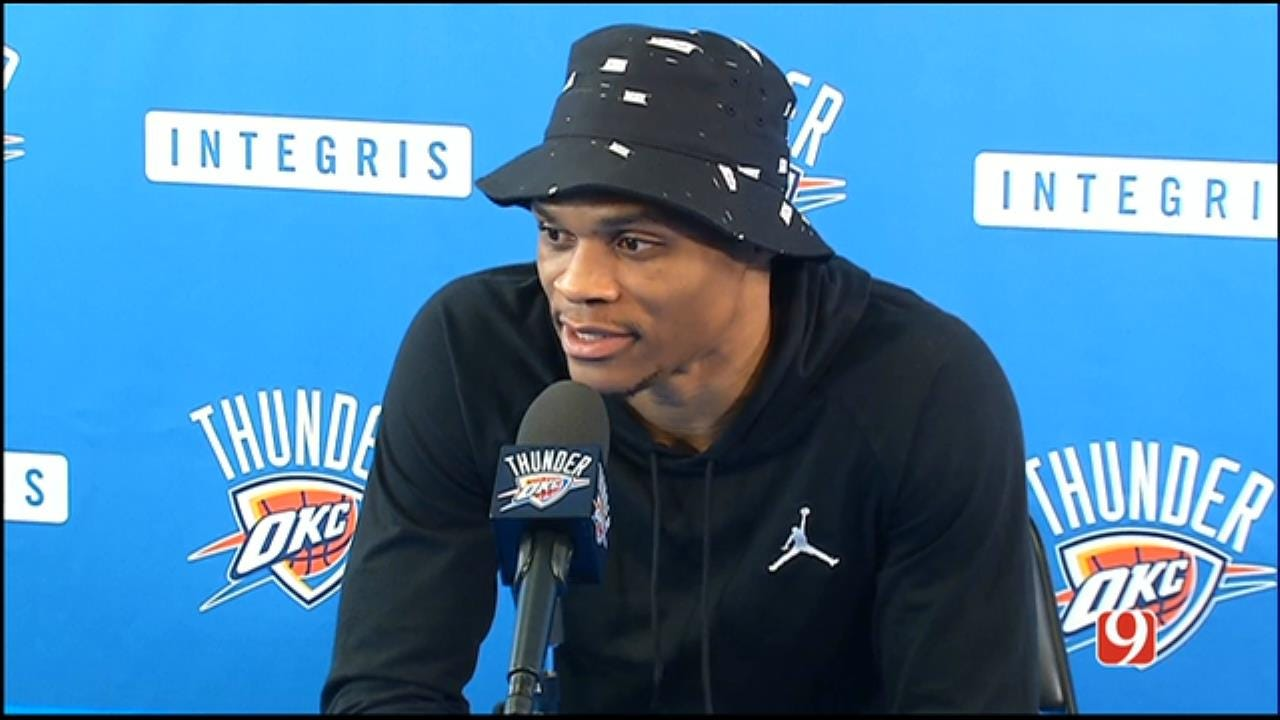 Russell Westbrook's 2016-17 Exit Interview