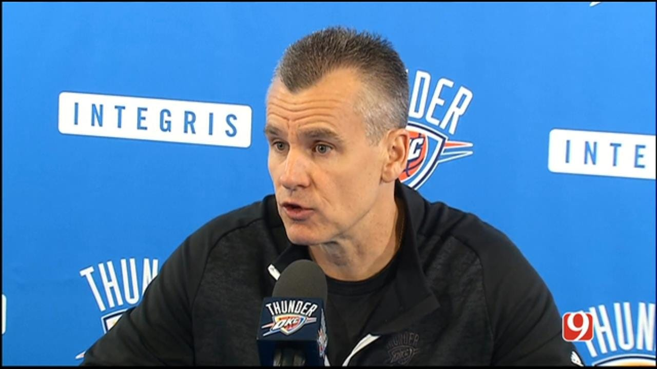 Billy Donovan's 2016-17 Exit Interview