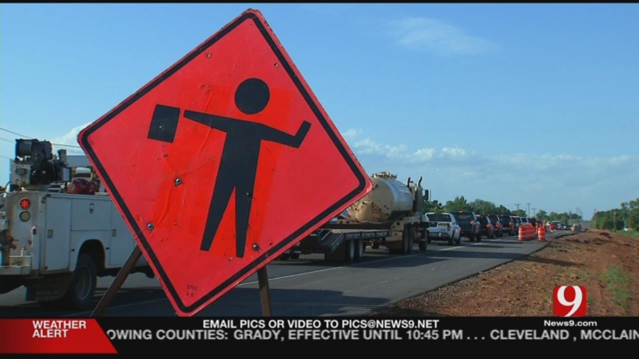 Construction Worker Still Critical After Crash Near Blanchard