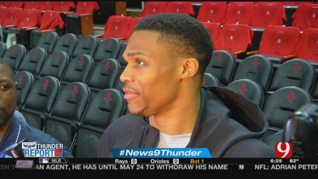 Thunder Looks To Extend Series In Houston On Tuesday Night