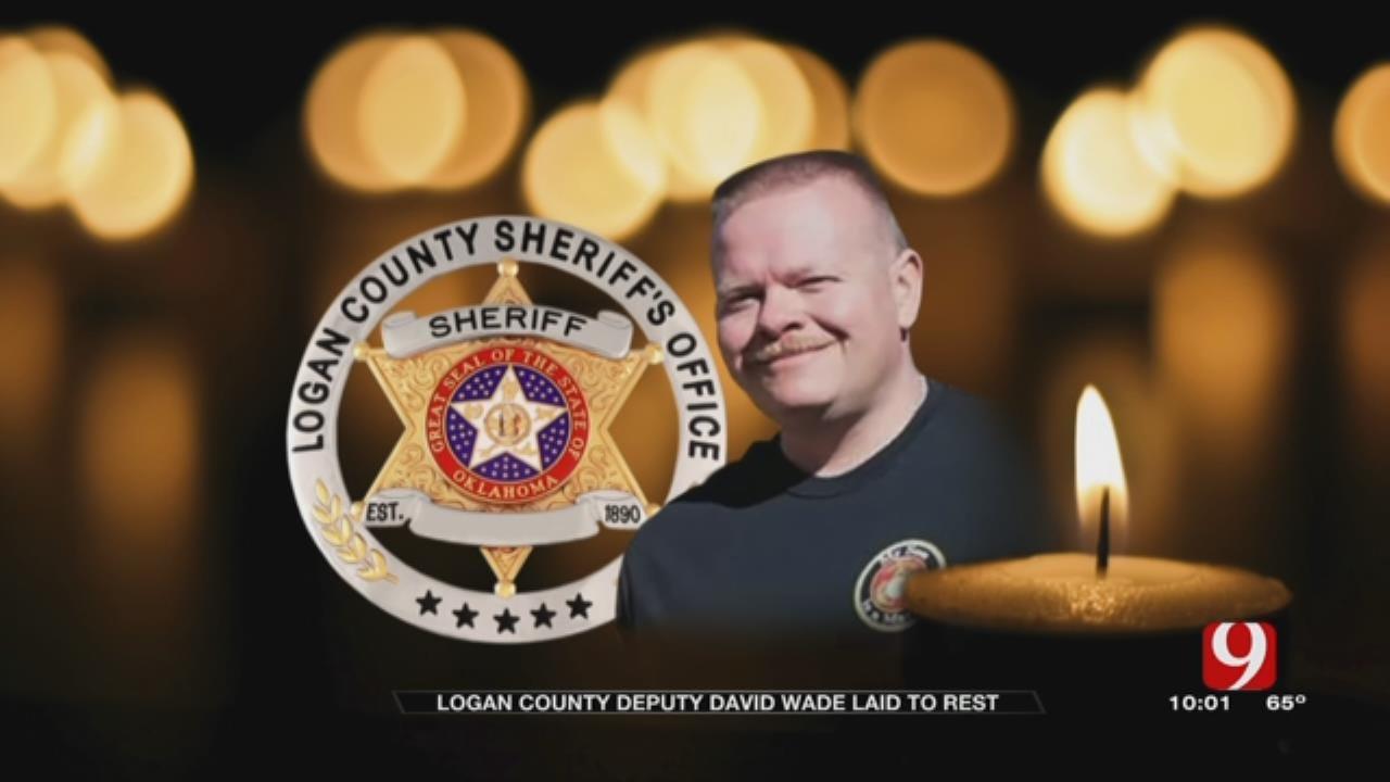 Law Officers, Community Gather To Remember Fallen Logan Co. Deputy