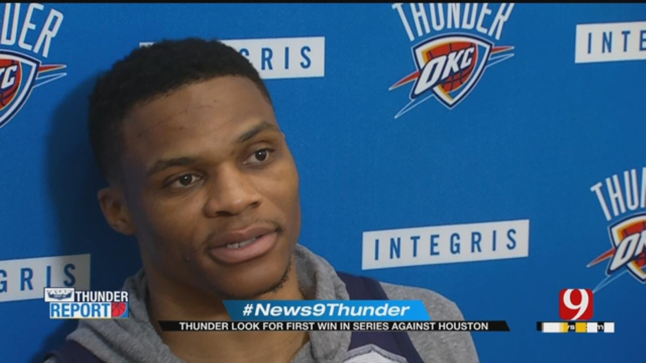 Thunder Hosts Rockets In Pivotal Game 3 Matchup