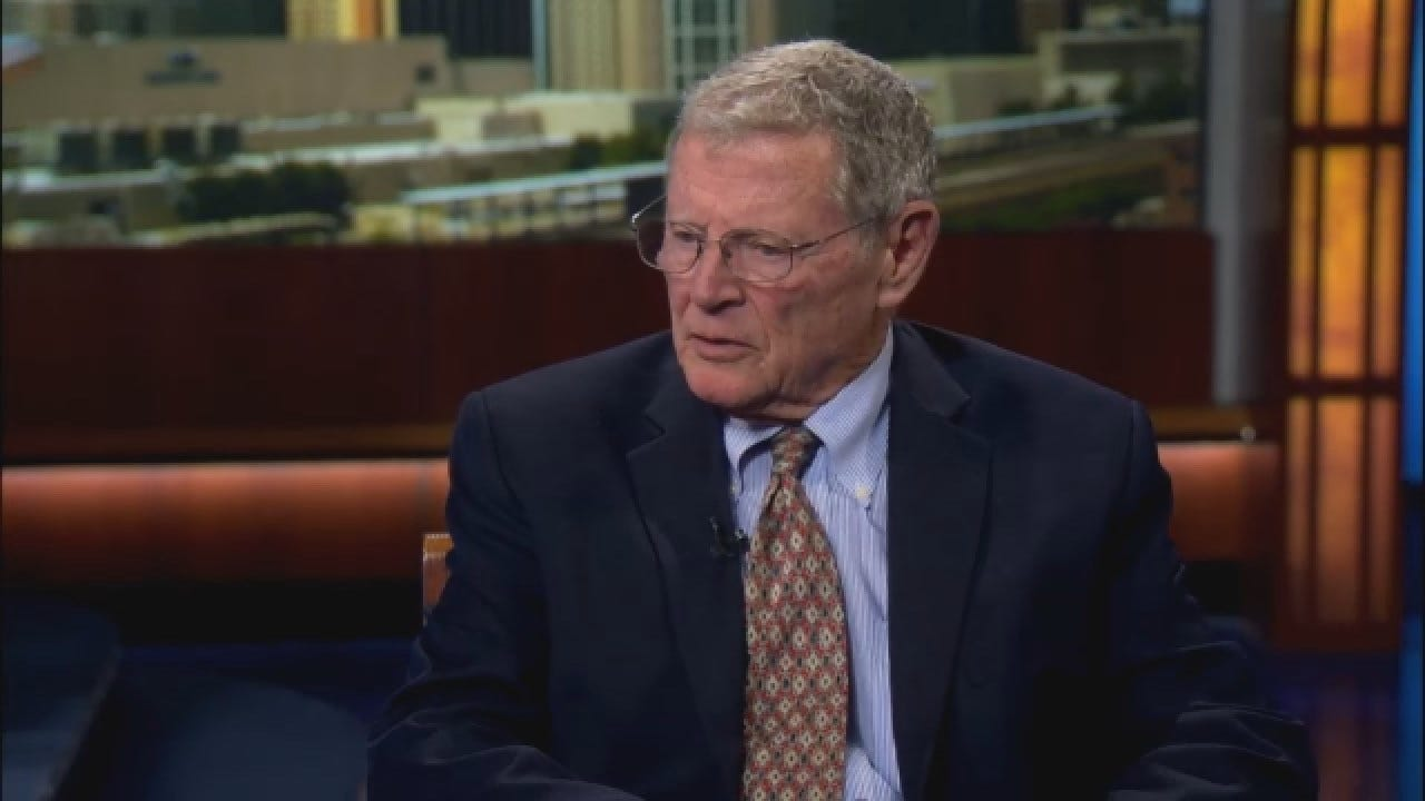 Justin Dougherty Sits Down With Senator Inhofe