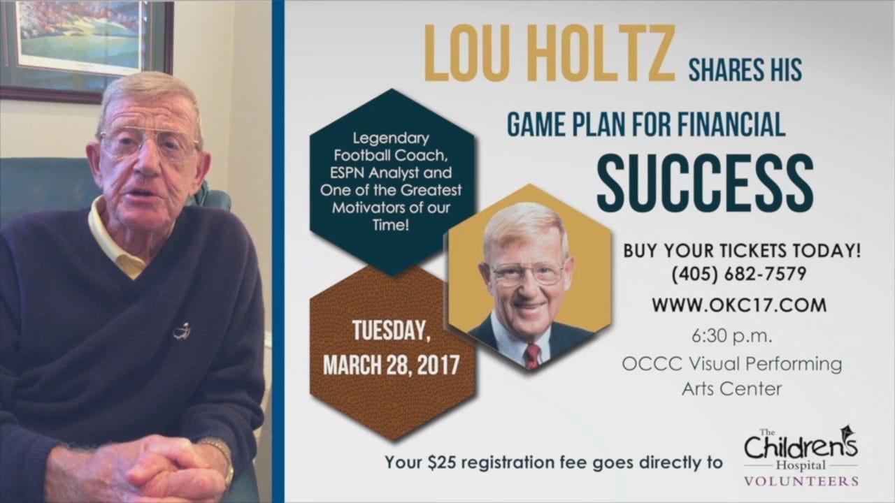 Gorton Financial Lou Holtz