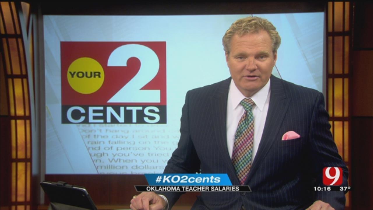 Your 2 Cents: Oklahoma Teacher Salaries