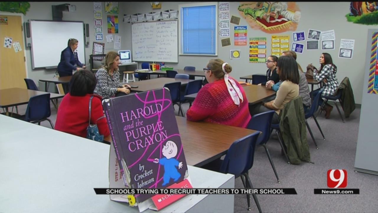 Oklahoma Schools Getting Creative To Recruit New Teachers