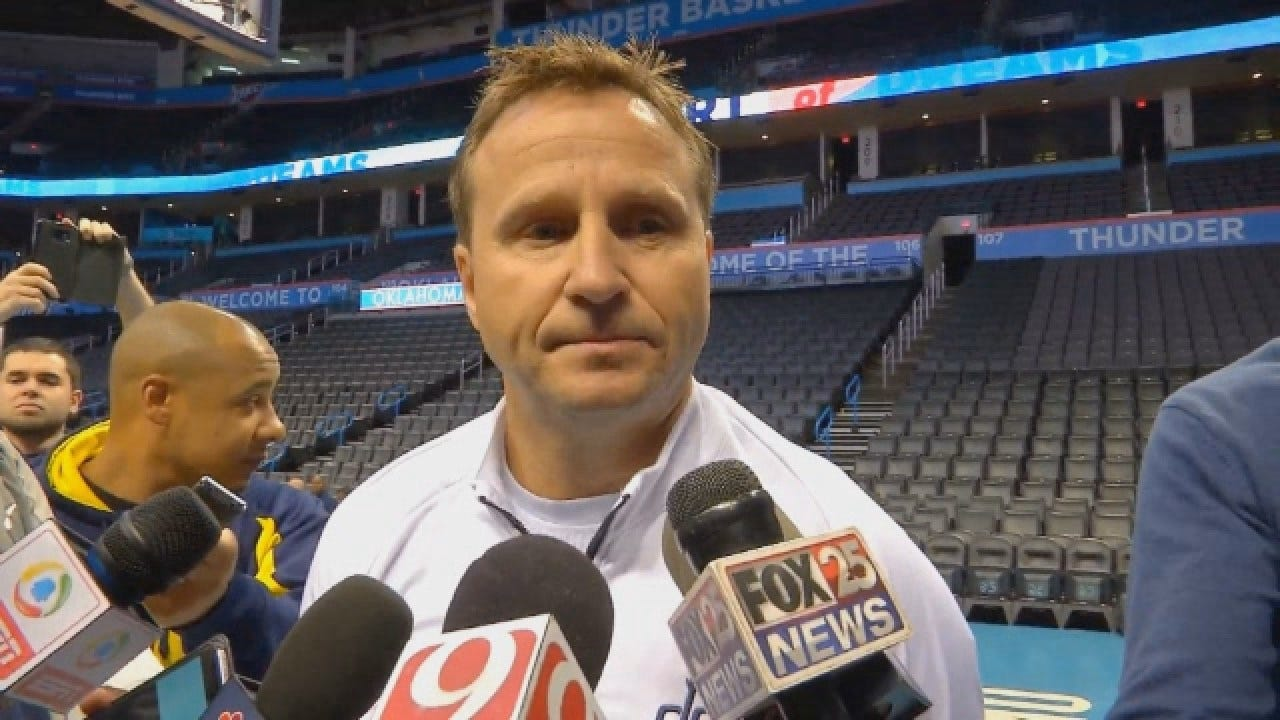 Former Thunder & Current Wizards' Coach Scott Brooks Talks To Media Part One