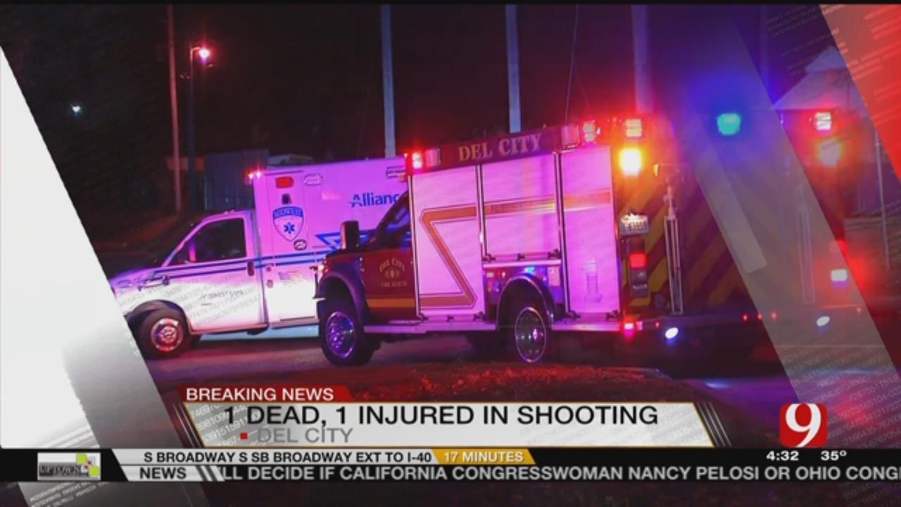 Police Investigate Homicide Near Del City Convenience Store