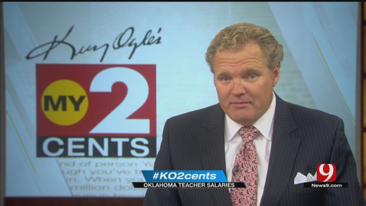 My 2 Cents: Oklahoma Teacher Salaries