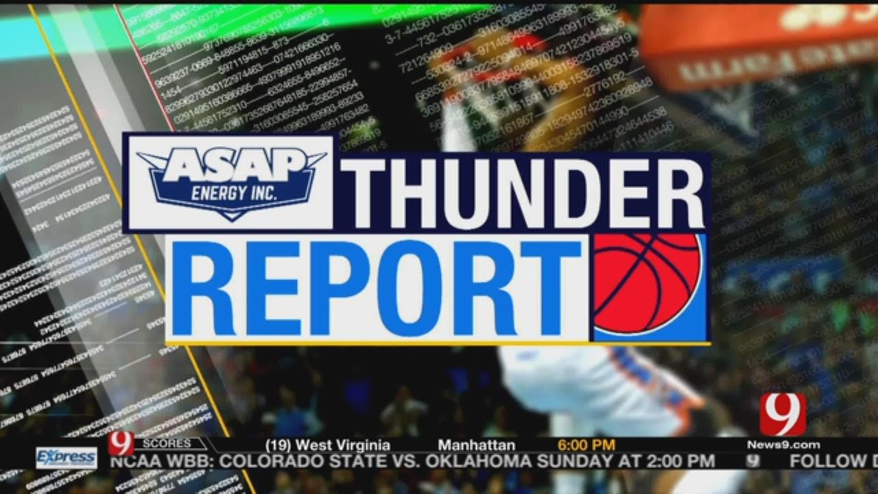 Thunder Win Third Straight As Westbrook Tallies Another Triple-Double