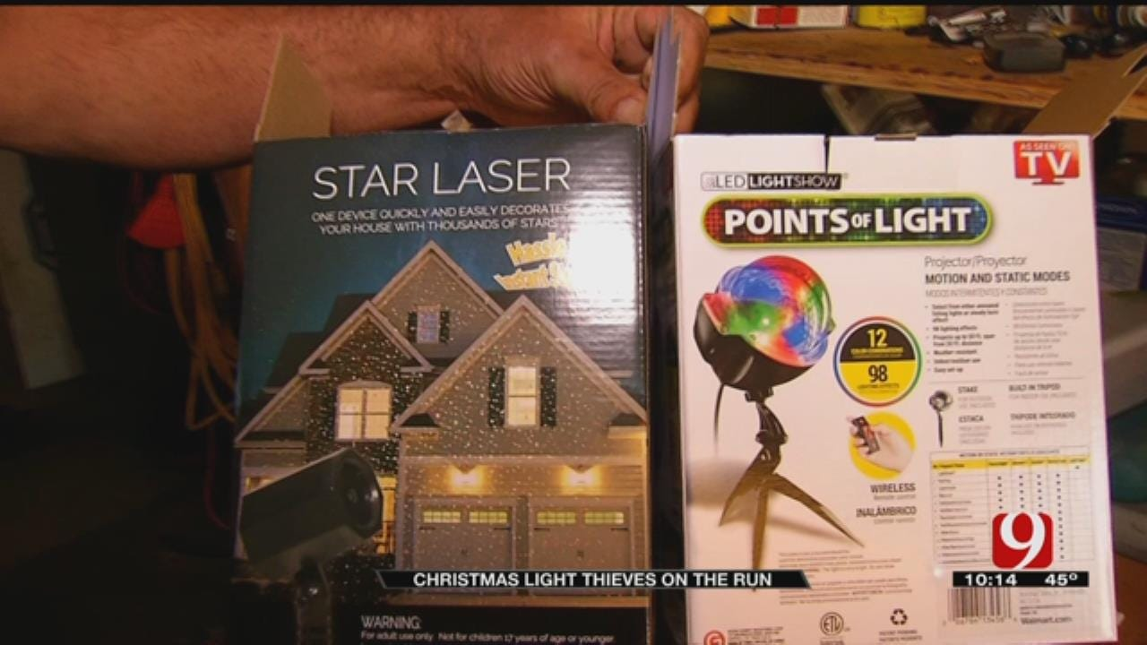Thieves Steal Christmas Lights During Thanksgiving Holiday Weekend