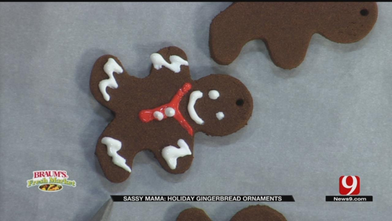 Holiday Gingerbread Ornaments
