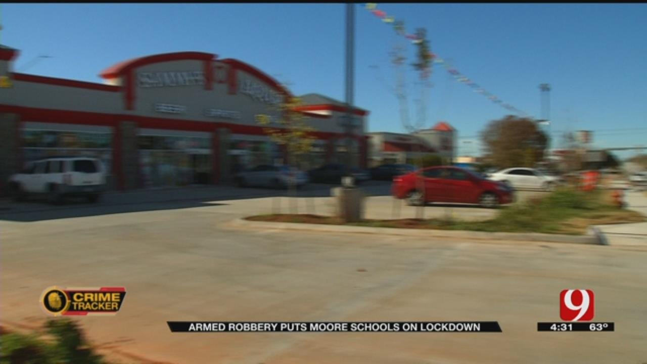 Attempted Armed Robbery Puts Moore Schools On Lockdown