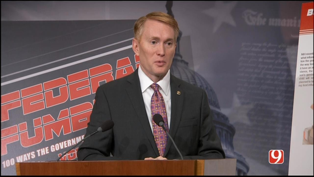 WEB EXTRA: Part II Of Sen. James Lankford's News Conference