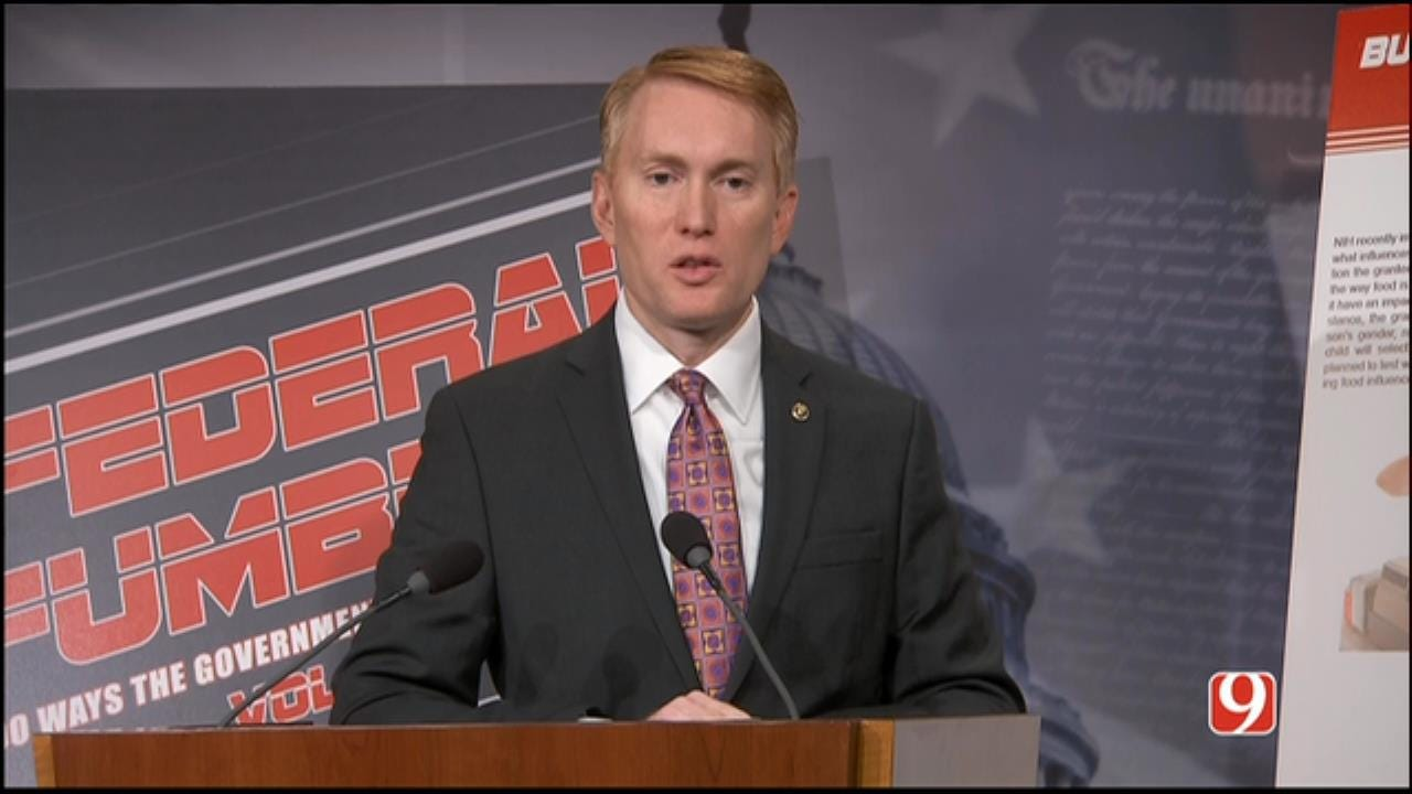 WEB EXTRA: Part I Of Sen. James Lankford's News Conference