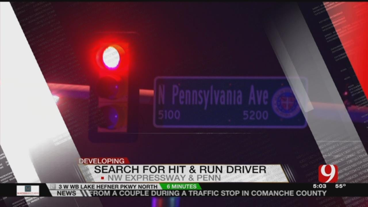 OKCPD Search For Driver Involved In Autoped Hit And Run