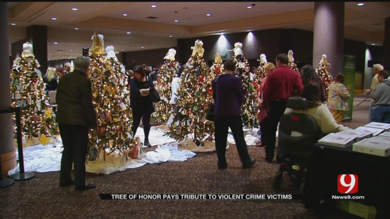Families Remember Crime Victims Through Trees of Honor