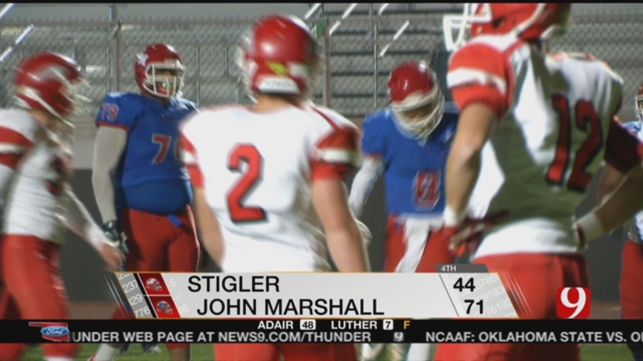 John Marshall Beats Stigler In 3A Quarterfinals