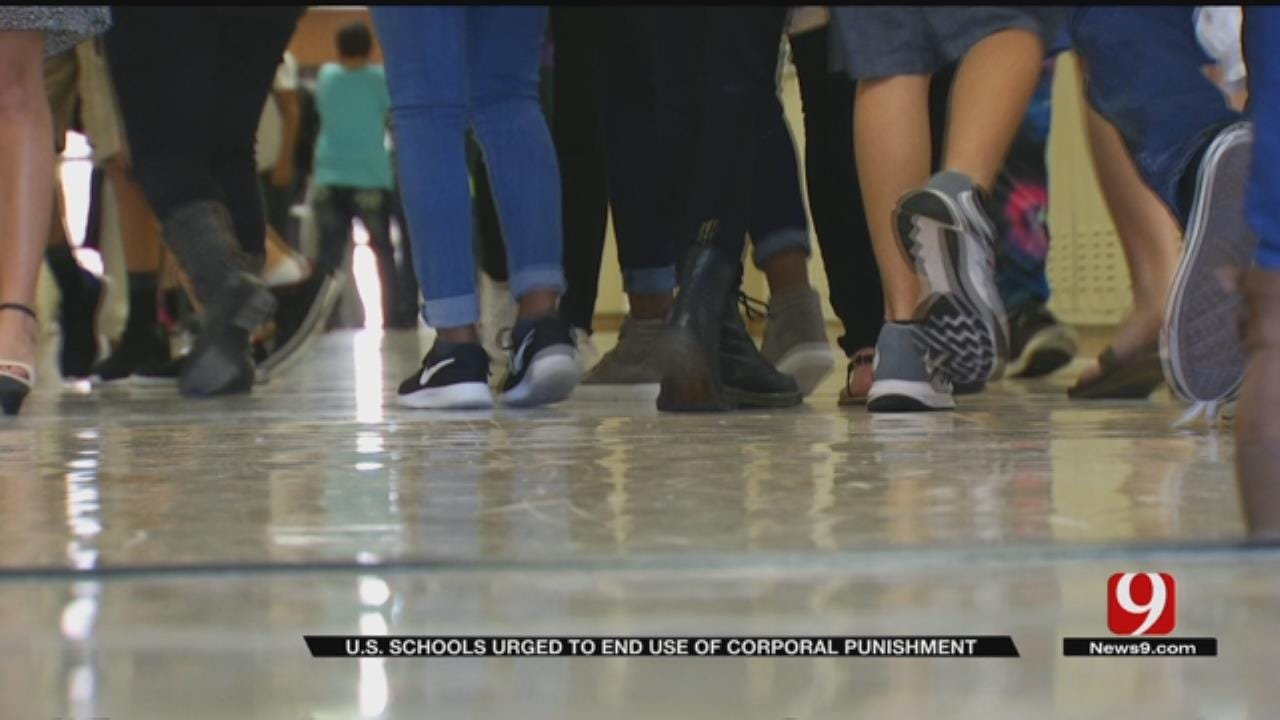 U.S. Schools Urged To End Use Of Corporal Punishment