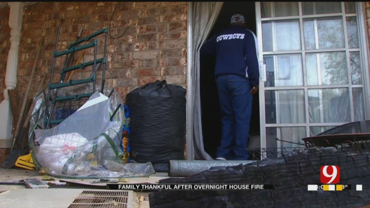 Metro Family Thankful No One Was Hurt After Overnight Fire