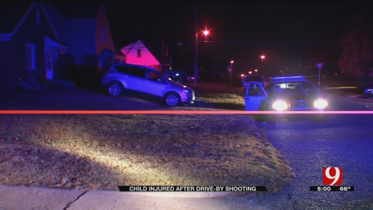 OKC Police Investigate After 3-Year-Old Girl Injured In Drive-By Shooting