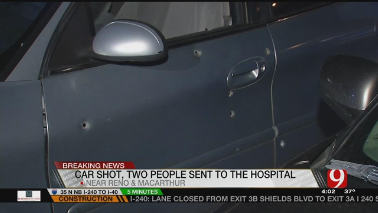 Two Men Hospitalized After Shooting In NW OKC