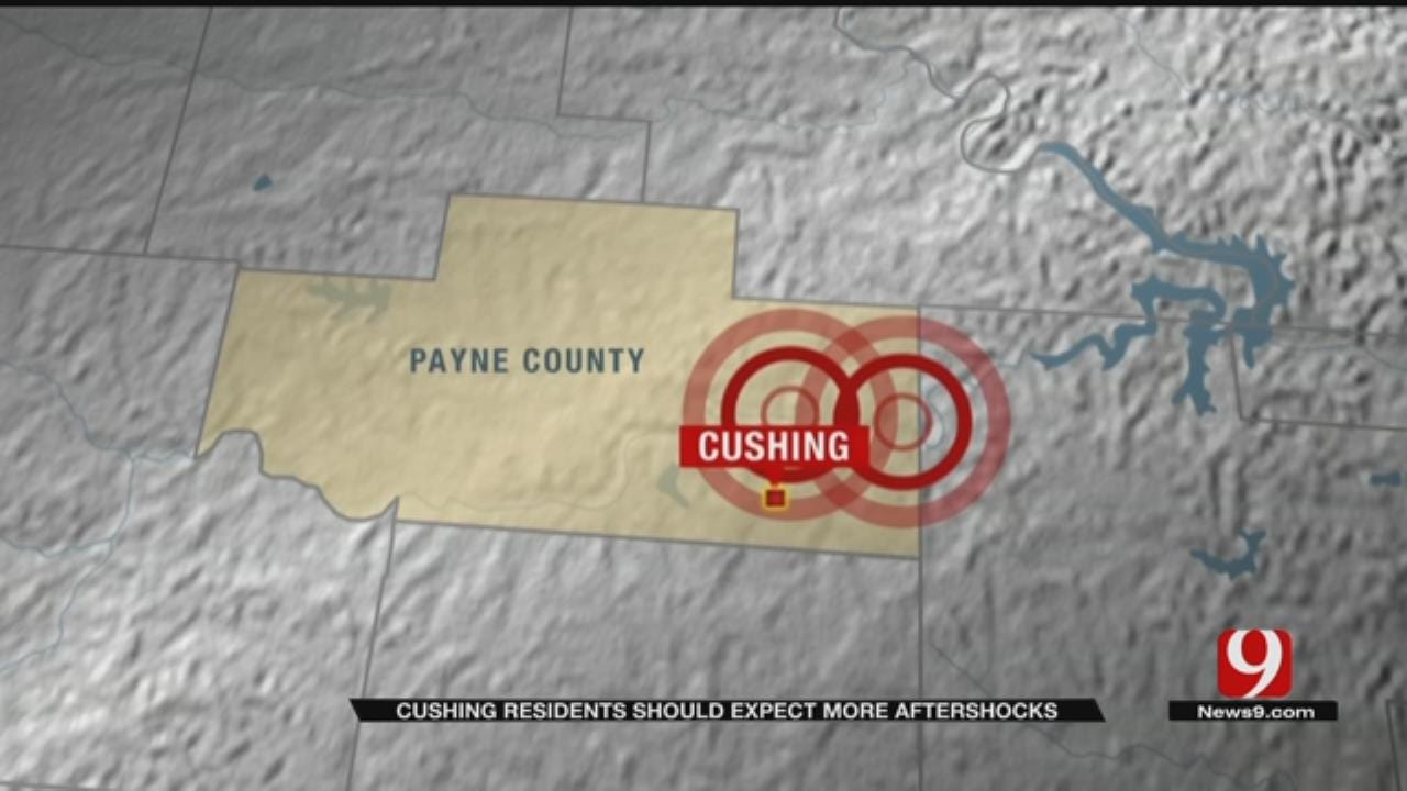 Cushing Residents Rattled After Two Back-To-Back Earthquakes Tuesday