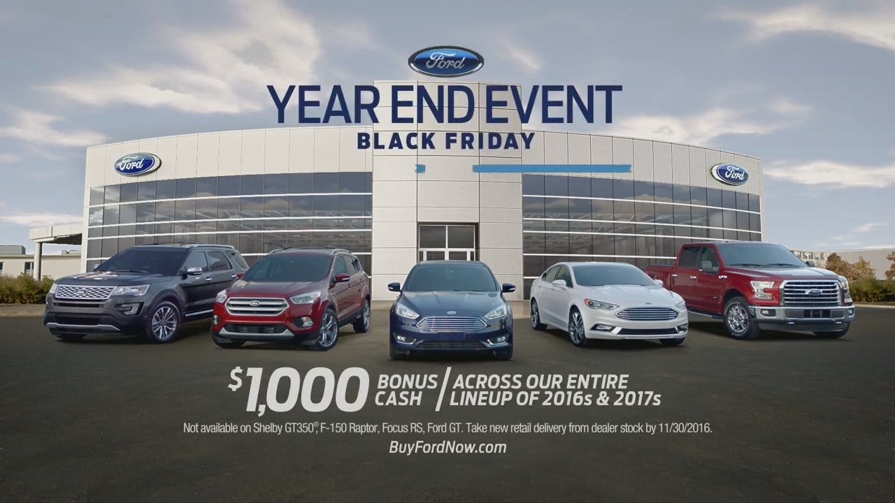 Ford Year End Sales Event 2016