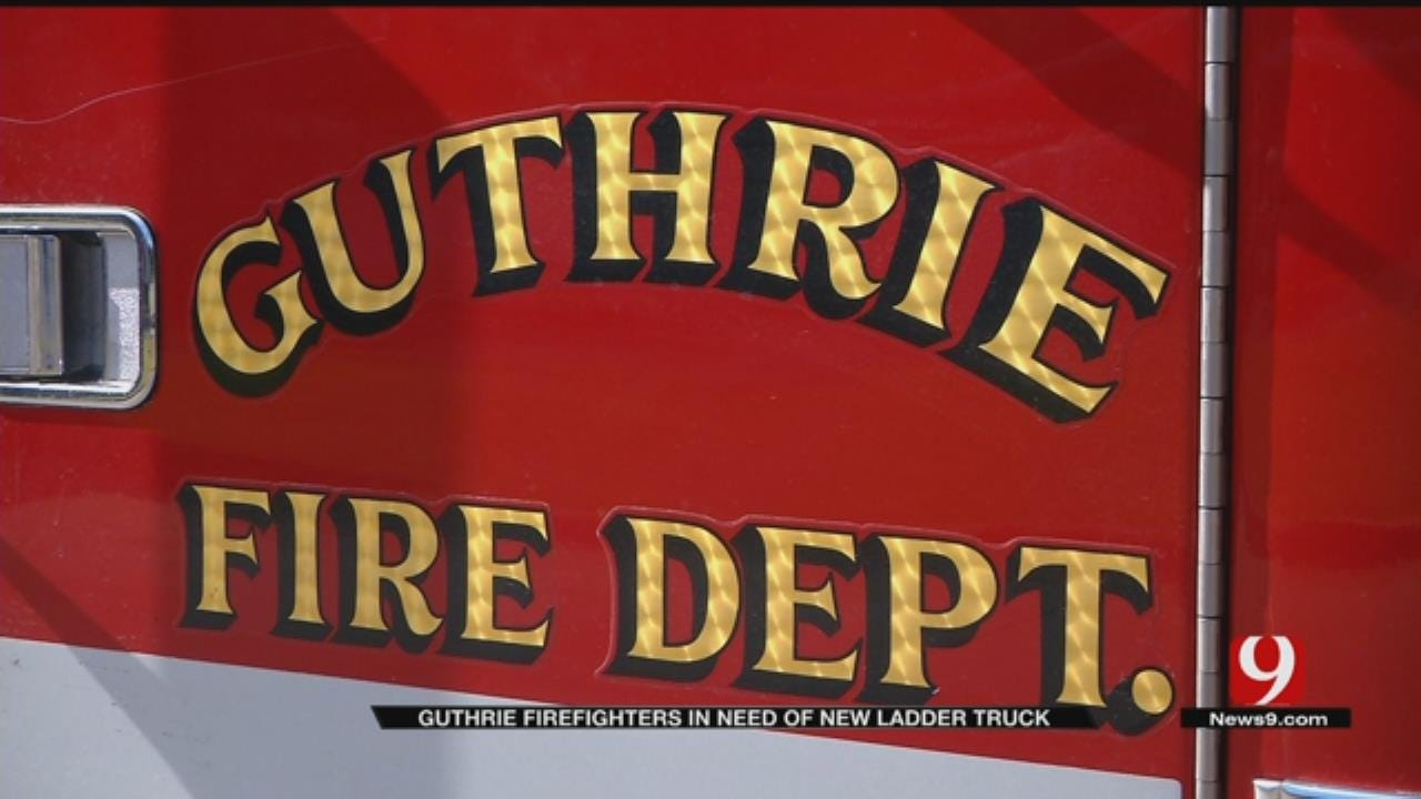 Guthrie Fire Department To Get Ladder Truck