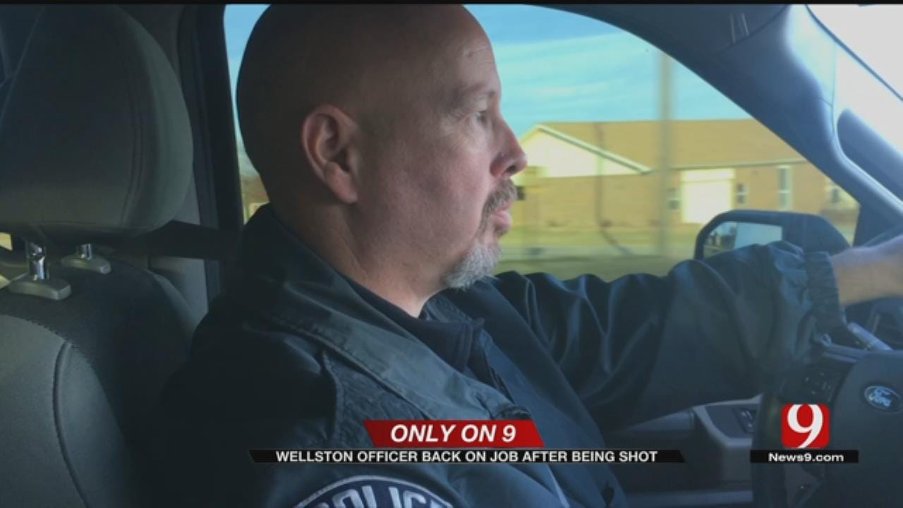 One Of Injured Wellston Police Officers Back On Job After Being Shot